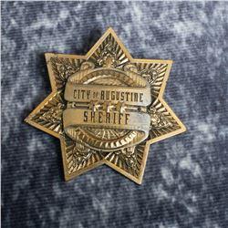 Priest – Hicks' (Cam Gigandet) Sheriff Badge – A836