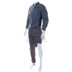 Starship Troopers - Mobile Infantry Uniform with Severed Leg - A779