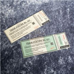 "Teen Wolf (MTV) – ""Train Station 137"" Tickets – A831"