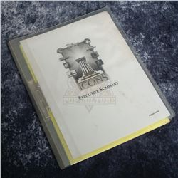 Icons Authentic Replicas – Executive Summary Binder – A728