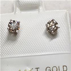 14K DIAMOND (0.4CT) EARRINGS