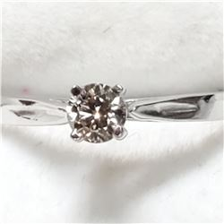 10K DIAMOND (0.22CT) RING
