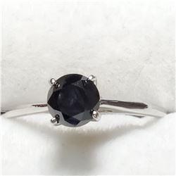 10K BLACK DIAMOND (0.7CT) RING
