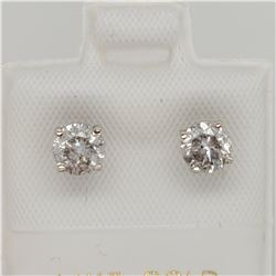 14K DIAMOND (1.05CT) EARRINGS