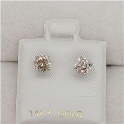 14K DIAMOND (0.8CT) EARRINGS
