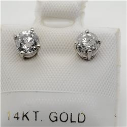 14K DIAMOND (0.75CT) EARRINGS