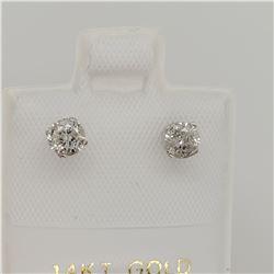 14K DIAMOND (0.45CT) EARRINGS
