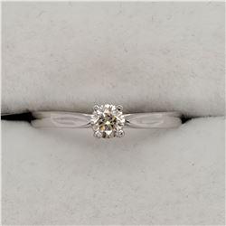 14K DIAMOND (0.22CT) RING