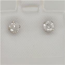 14K  DIAMOND (0.3CT) EARRINGS