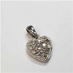 10K DIAMOND (0.26CT) PENDANT