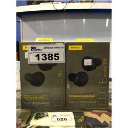 3 JABRA GN ELITE 65T WIRELESS HEADPHONES (UNTESTED)