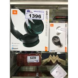 2 JBL WIRELESS HEADPHONES: FREE & LIVE 400BT (UNTESTED)