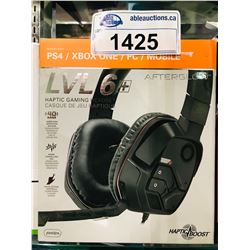 AFTERGLOW LVL 6+ HAPTIC GAMING HEADSET (UNTESTED)