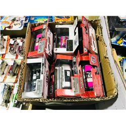 BOX OF ASSORTED NEW IN PACKAGING TOY CARS (M2)