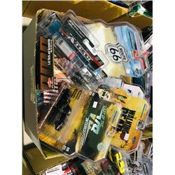 BOX OF ASSORTED NEW IN PACKAGING TOY CARS (GREENLIGHT)