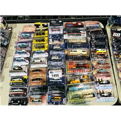ASSORTED NEW IN PACKAGING TOY CARS (GREENLIGHT)