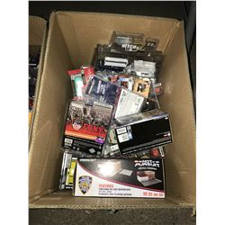 BOX OF ASSORTED NEW IN PACKAGING TOY CARS (GREENLIGHT, M2)