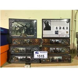 8 NEW IN BOX A SONG OF ICE & FIRE MINIATURES