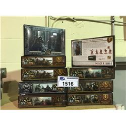 9 NEW IN BOX A SONG OF ICE & FIRE MINIATURES