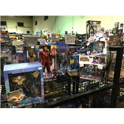 7 NEW IN PACKAGING MARVEL TOYS: GROOT, ROCKET, CAPCOM, & MORE