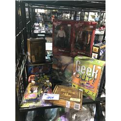 ASSORTED NEW IN BOX/PACKAGING TOYS & GAMES: ONCE UPON A TIME, A CHRISTMAS STORY, AUSTIN POWERS,