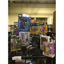 8 NEW IN PACKAGING TOYS: ONE PIECE, PACIFIC RIM UPRISING, KINGDOM OF HEARTS, SUPER MARIO,