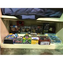 ASSORTED NEW IN BOX/PACKAGING TOYS, BOOKS, & COLLECTIBLES: POWER RANGERS, BONKA ZONKS, STAR WARS,