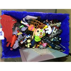 ASSORTED LOOSE TOYS (BIN NOT INCLUDED)