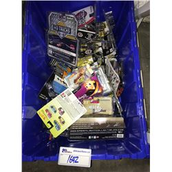 ASSORTED NEW IN PACKAGING TOY CARS (GREENLIGHT, HOT WHEELS) (BIN NOT INCLUDED)