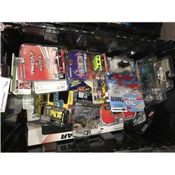 ASSORTED NEW IN PACKAGING TOY CARS (GREENLIGHT, M2, JOHNNY LIGHTNING) (BIN NOT INCLUDED)