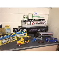 ASSORTED COLLECTIBLE TOY TRUCKS