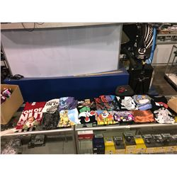 BOX OF ASSORTED SIZES/GENDERS T-SHIRTS NEW WITH TAGS