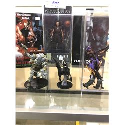 2 OUT OF BOX COLLECTIBLE FIGURES