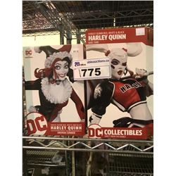 2 NEW IN BOX HARLEY QUINN FIGURES