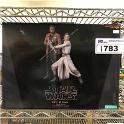 NEW IN BOX STAR WARS REY & FINN TWO PACK MODEL KIT
