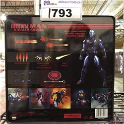NEW IN TIN BOX IRON MAN STEALTH ARMOR TOY
