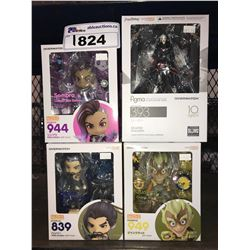 4 NEW IN PACKAGING OVERWATCH TOYS