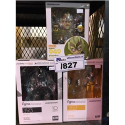 3 NEW IN PACKAGING OVERWATCH TOYS