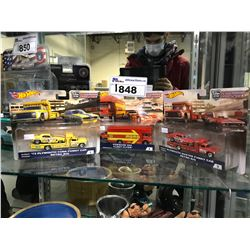 3 NEW IN PACKAGING TOY CARS (HOT WHEELS)