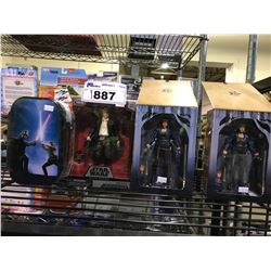 4 NEW IN PACKAGING TOYS: ONCE UPON A TIME & STAR WARS