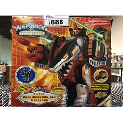 OPENED BOX POWER RANGERS TIME FORCE QUANTASAURUS REX MEGAZORD