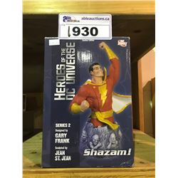 LIMITED EDITION SHAZAM FIGURE NEW IN BOX 1055/2000