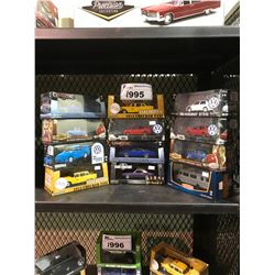 APPROX 12 GREENLIGHT & ASSORTED MODEL CARS