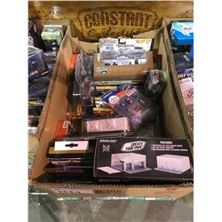 BOX OF GREENLIGHT, HOT WHEELS & ASSORTED TOY CARS