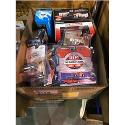 BOX OF GREENLIGHT & ASSORTED TOY CARS