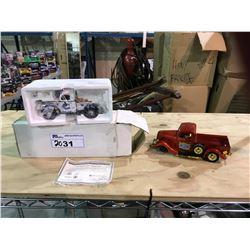 """GO CANUCKS GO"" 1947 DODGE PICKUP & 1955 FORD V8 PICKUP TRUCK"
