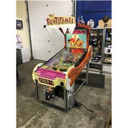 THE FLINTSTONES PINBALL MACHINE IN WORKING ORDER