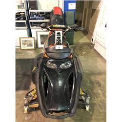 BOMBARDIER SKI-DOO SNOWMOBILE UNKNOWN WORKING CONDITION WITH EXTRA SEAT
