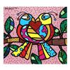 Love Birds (Pink) by Britto, Romero