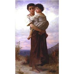 William Bouguereau - Young Gypsies